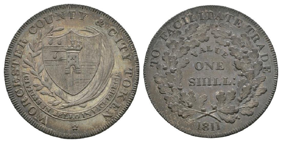 19th Century - Worcester - 1811 - Shilling