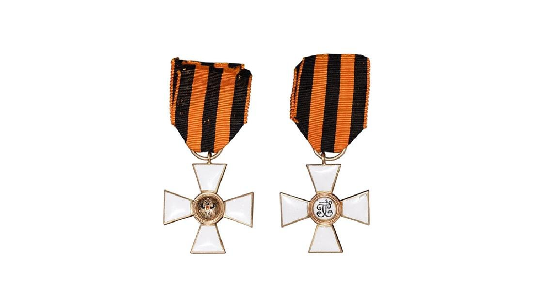 Russia - Order of St George 4th Class Gold Cross