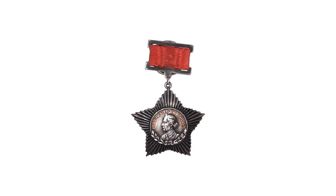 Russia - Order of Suvorov 3rd Class - 1st Type