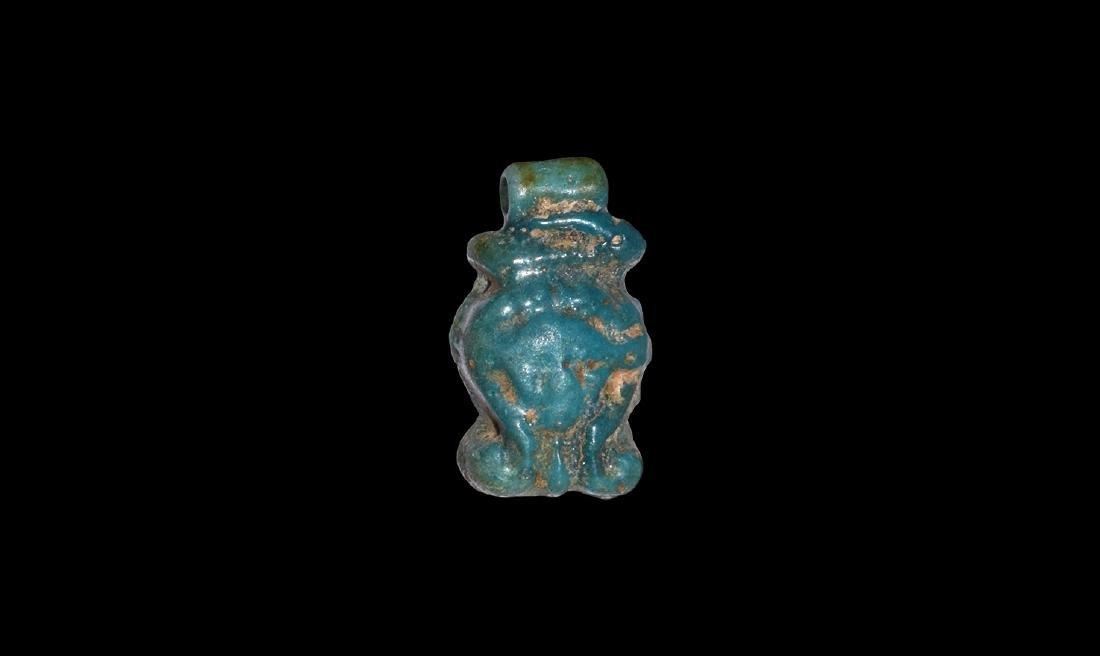 Egyptian Hathor Head Amulet