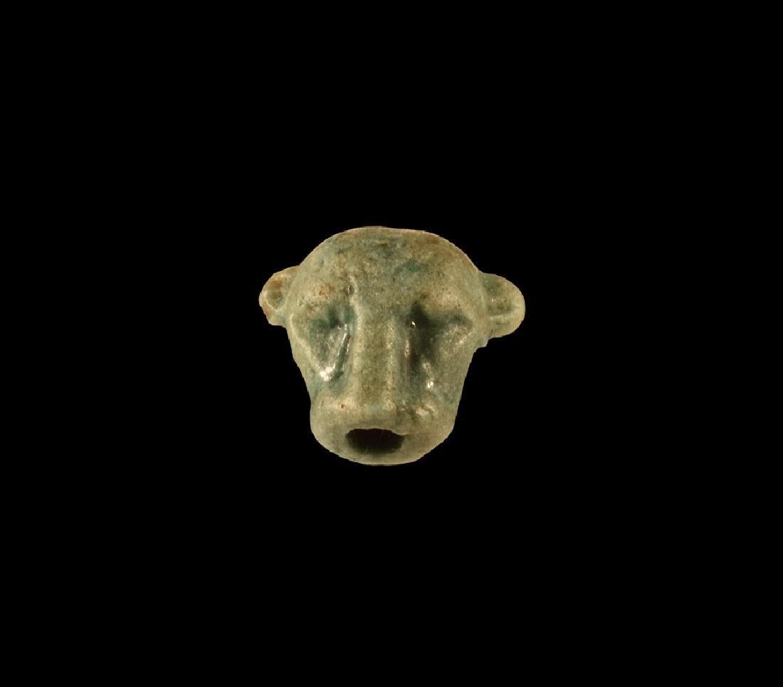 Egyptian Leopard Head Amulet