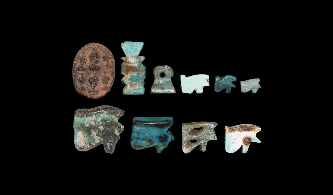 Egyptian Amulet Group