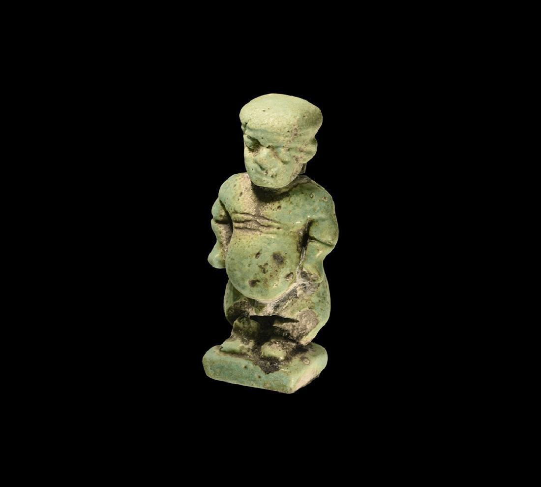 Egyptian Large Pataikos Amulet