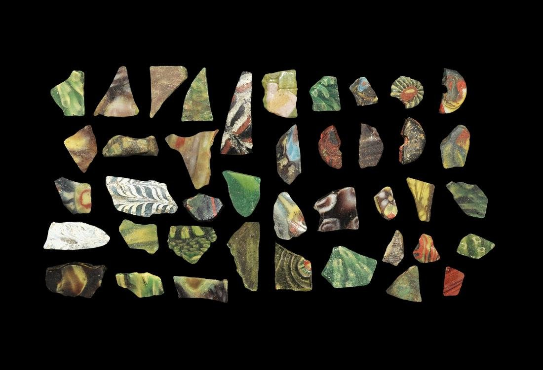 Egyptian and Roman Mosaic Glass