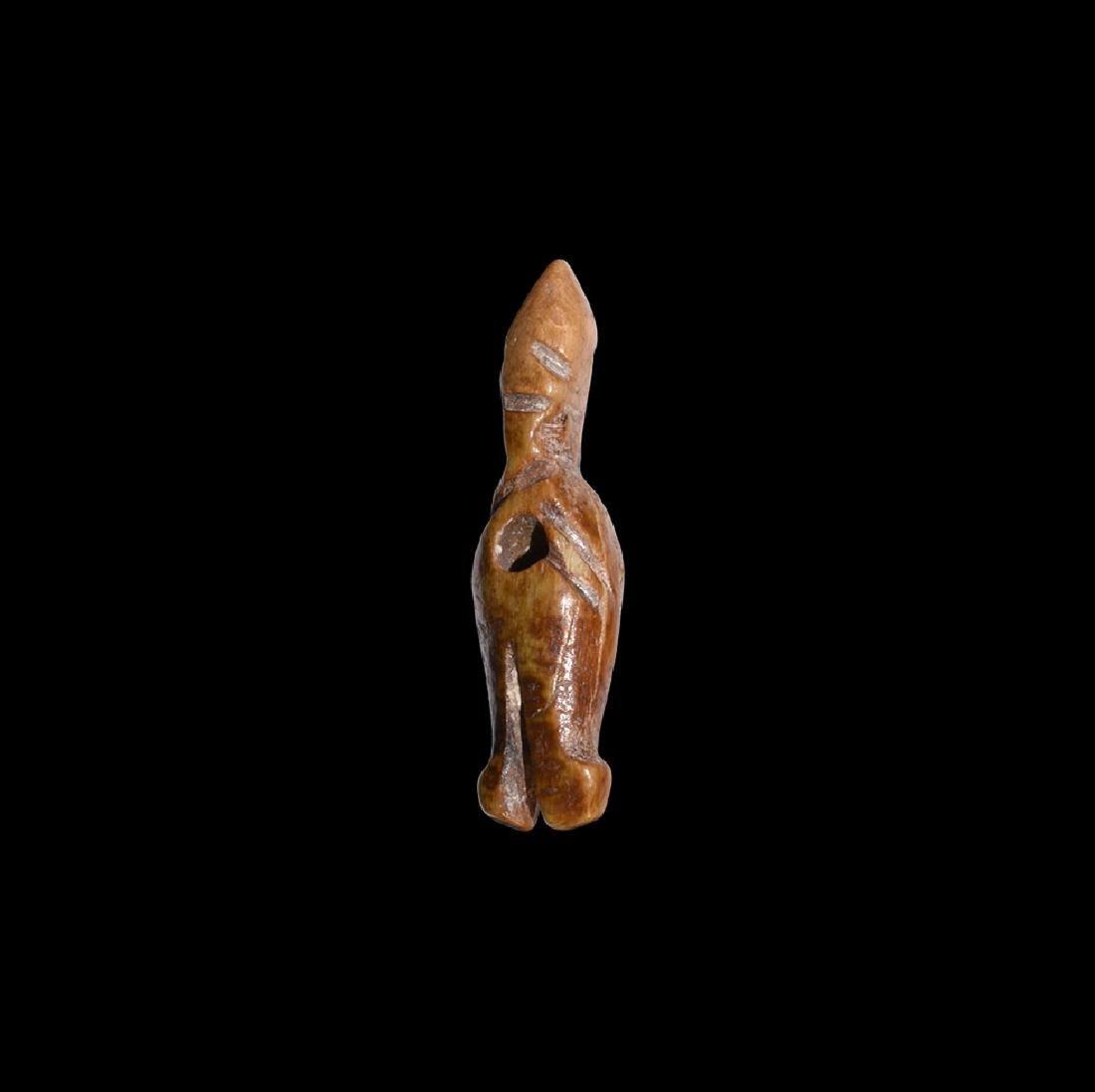 Egyptian Bone Amuletic Pendant