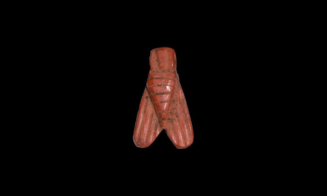 Egyptian Jasper Fly Amulet