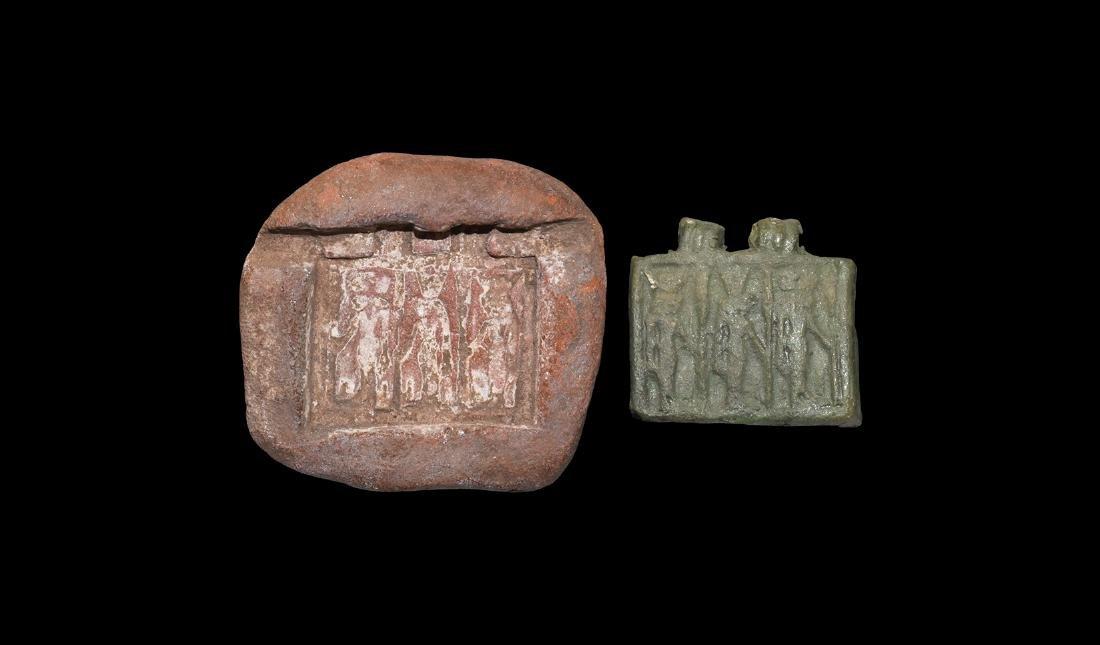 Egyptian Amulet Mould