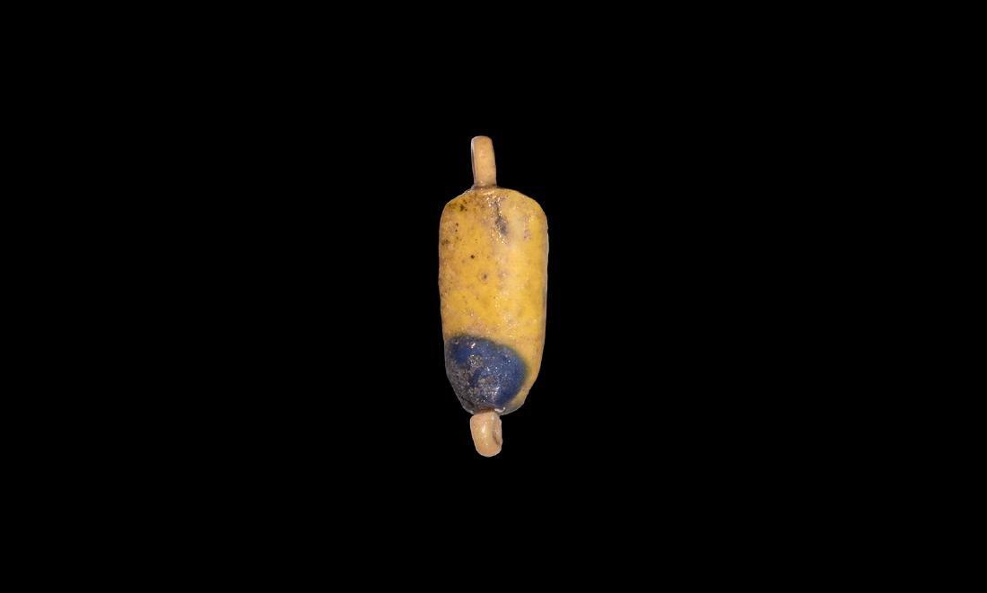 Egyptian Amarna Petal Amulet