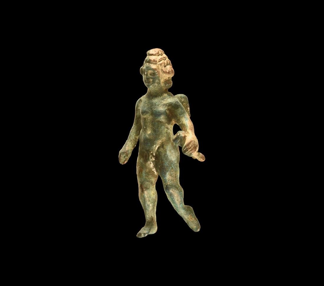 Roman Winged Cupid Statuette