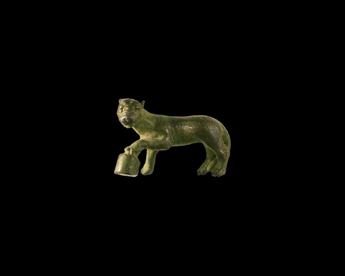Roman Panther Statuette