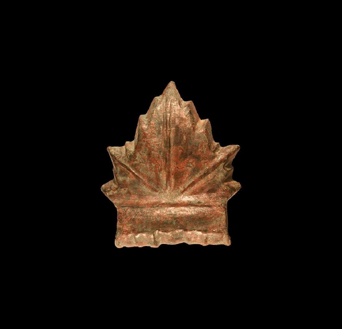 Roman Vine Leaf Bowl Mount