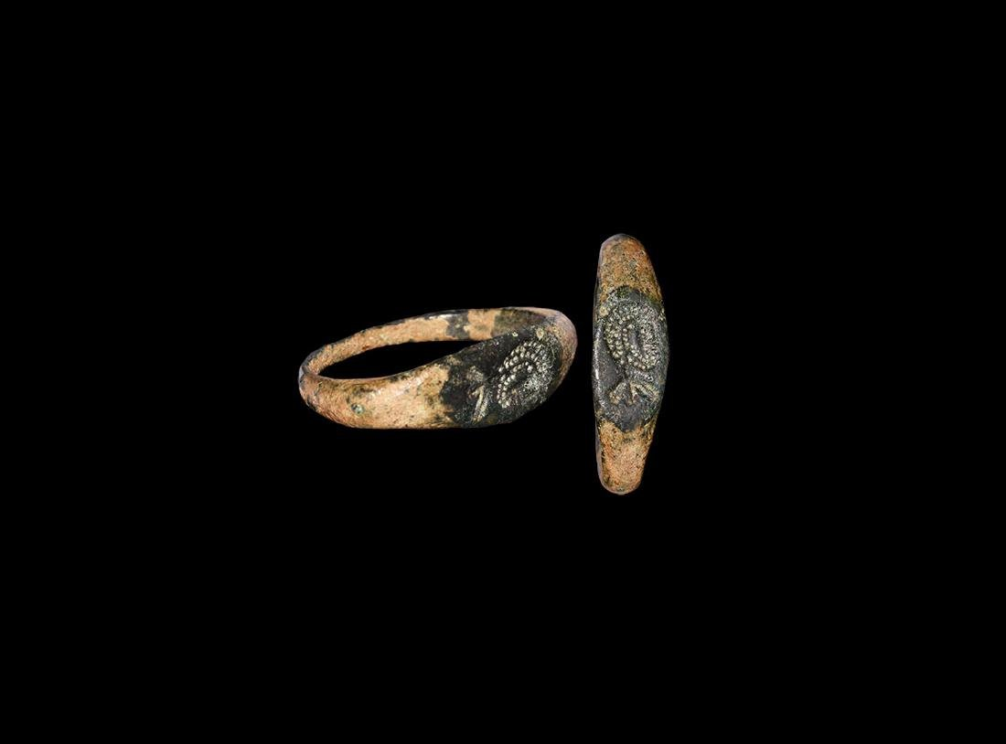 Roman Judaean Ring with Bust