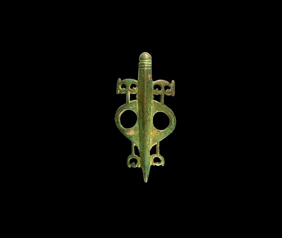 Roman Military Insignia Brooch