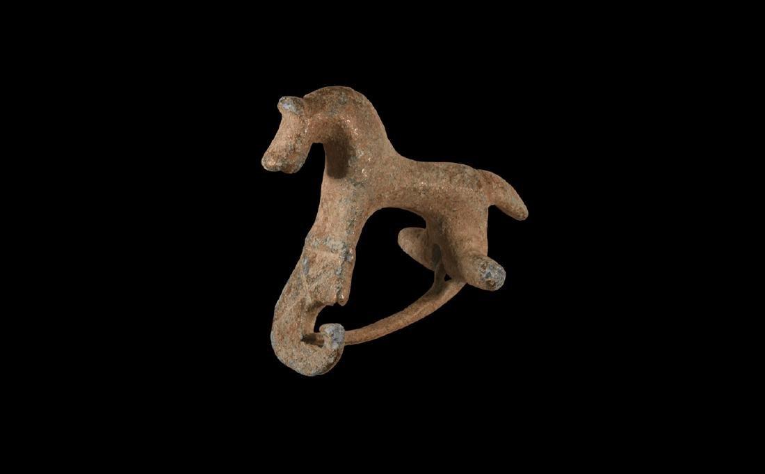 Roman Horse Brooch
