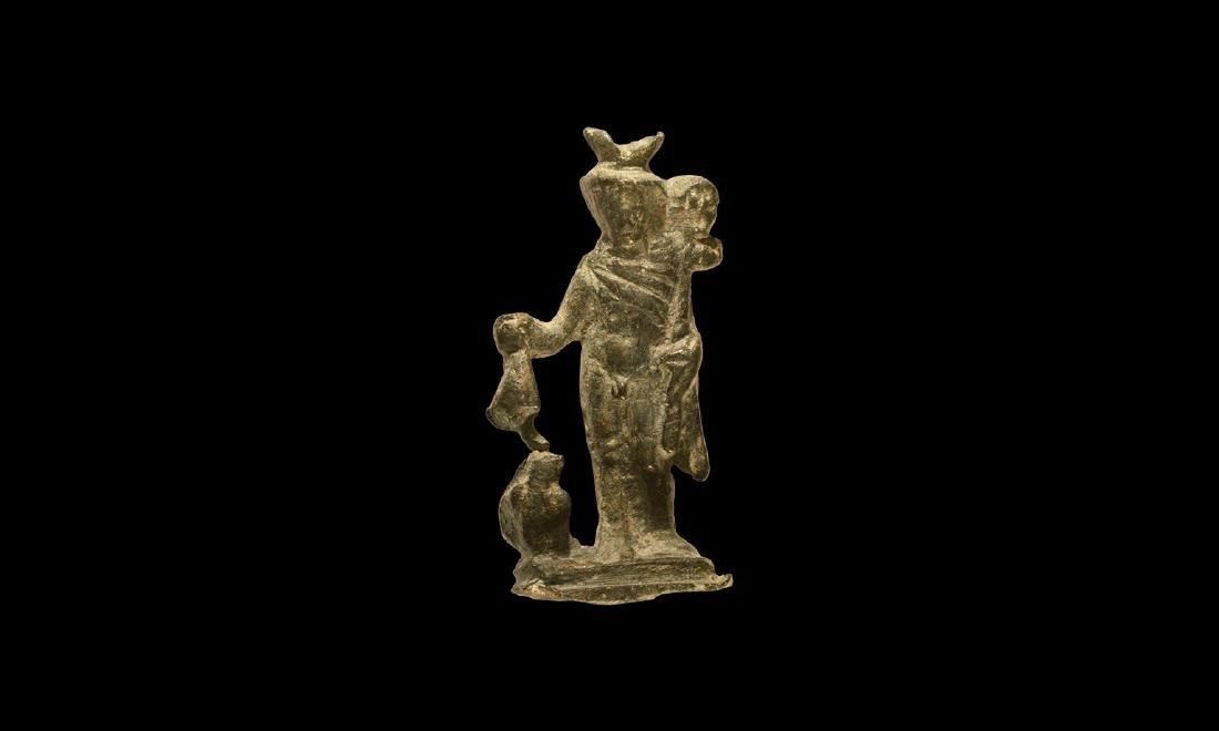 Roman Mercury Statuette