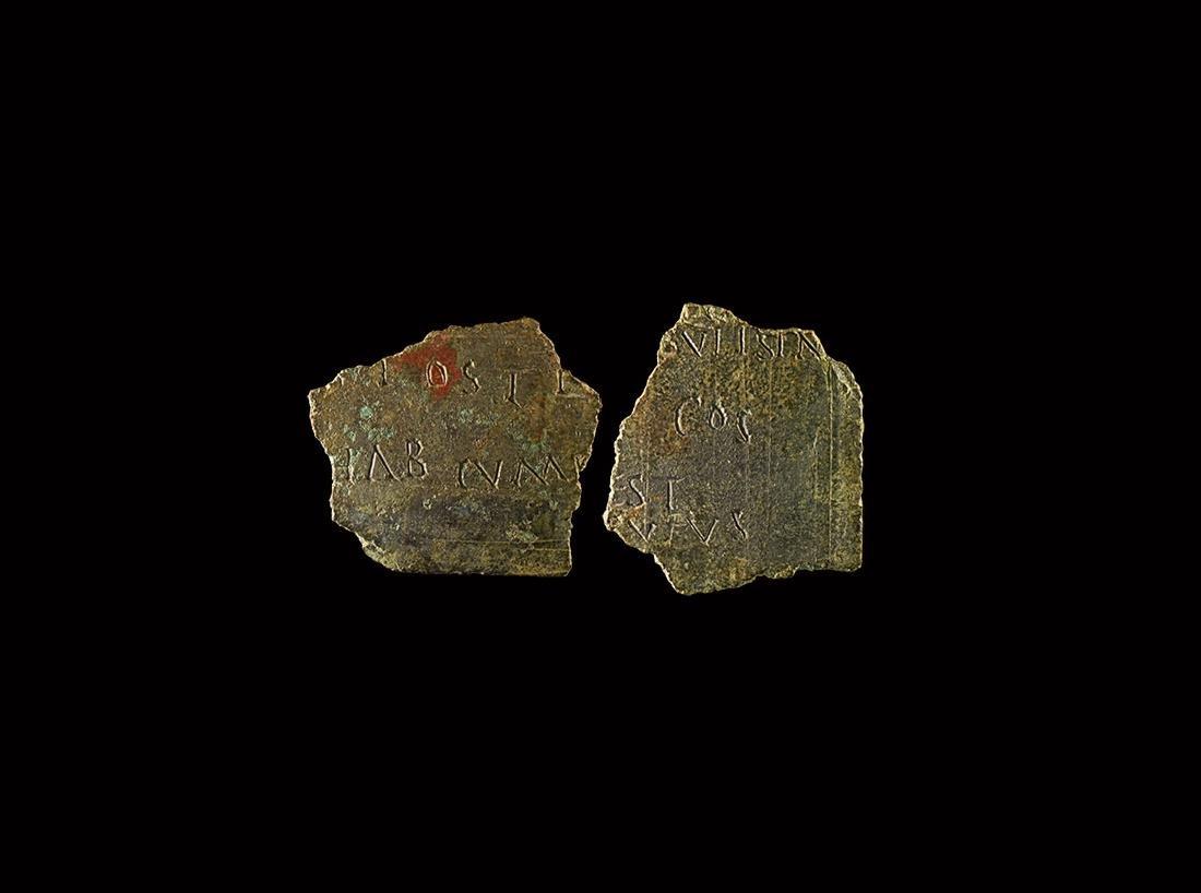 Roman Diploma Fragment