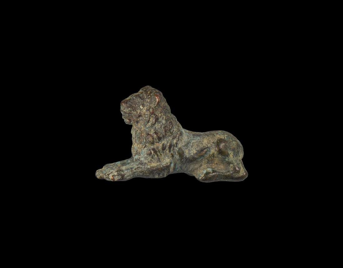 Roman Lion Statuette