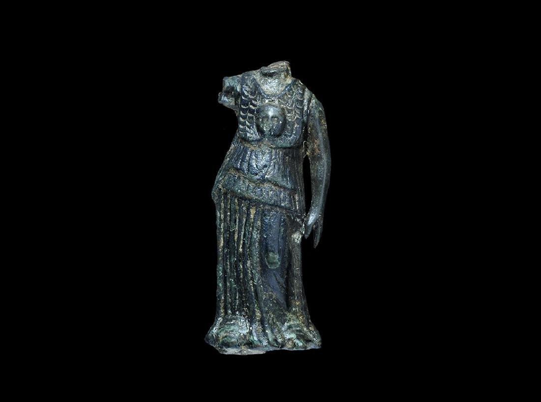 Roman Minerva Torso with Gorgoneion