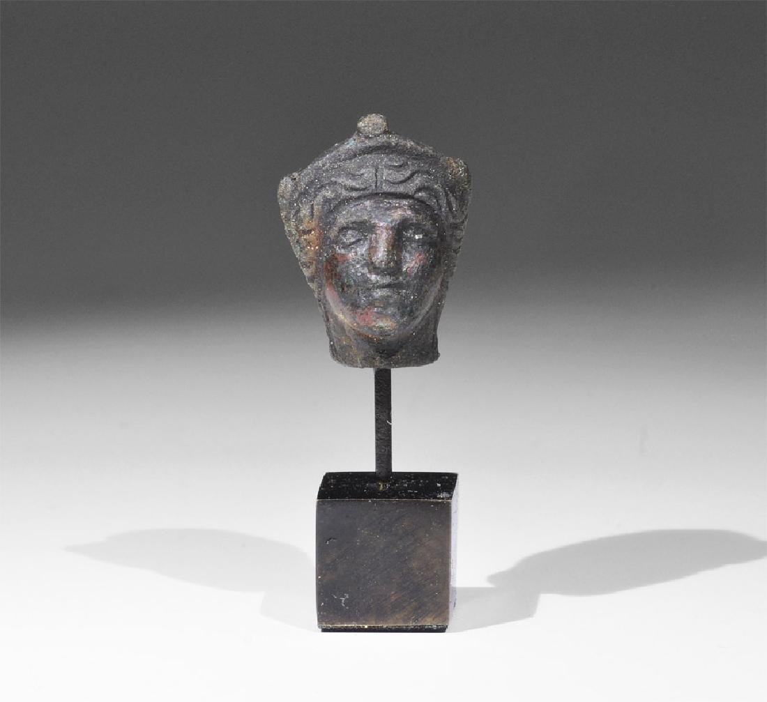 Roman Bust of a Goddess