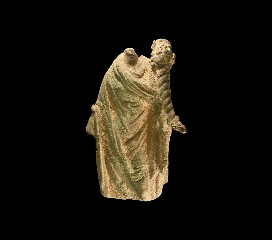 Roman Fortuna Statuette Torso