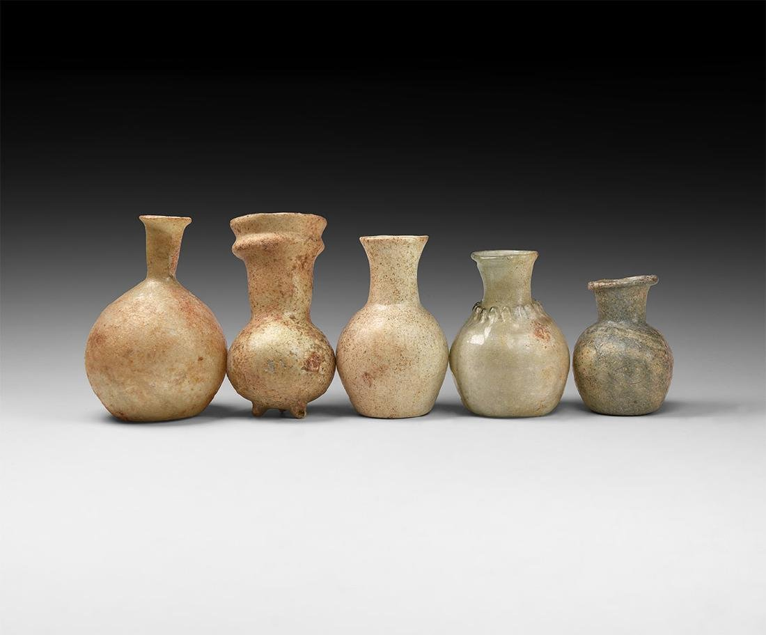 Roman Period Glass Bottle Group
