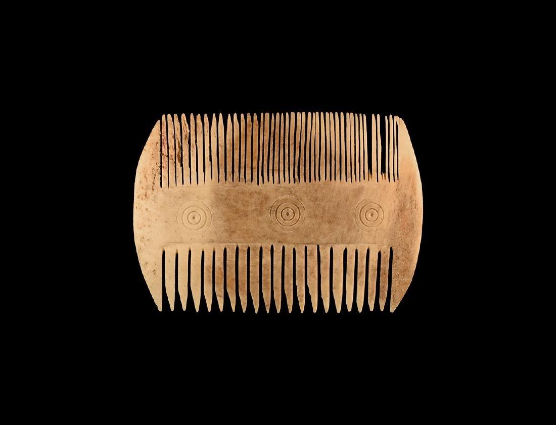 Byzantine Bone Comb