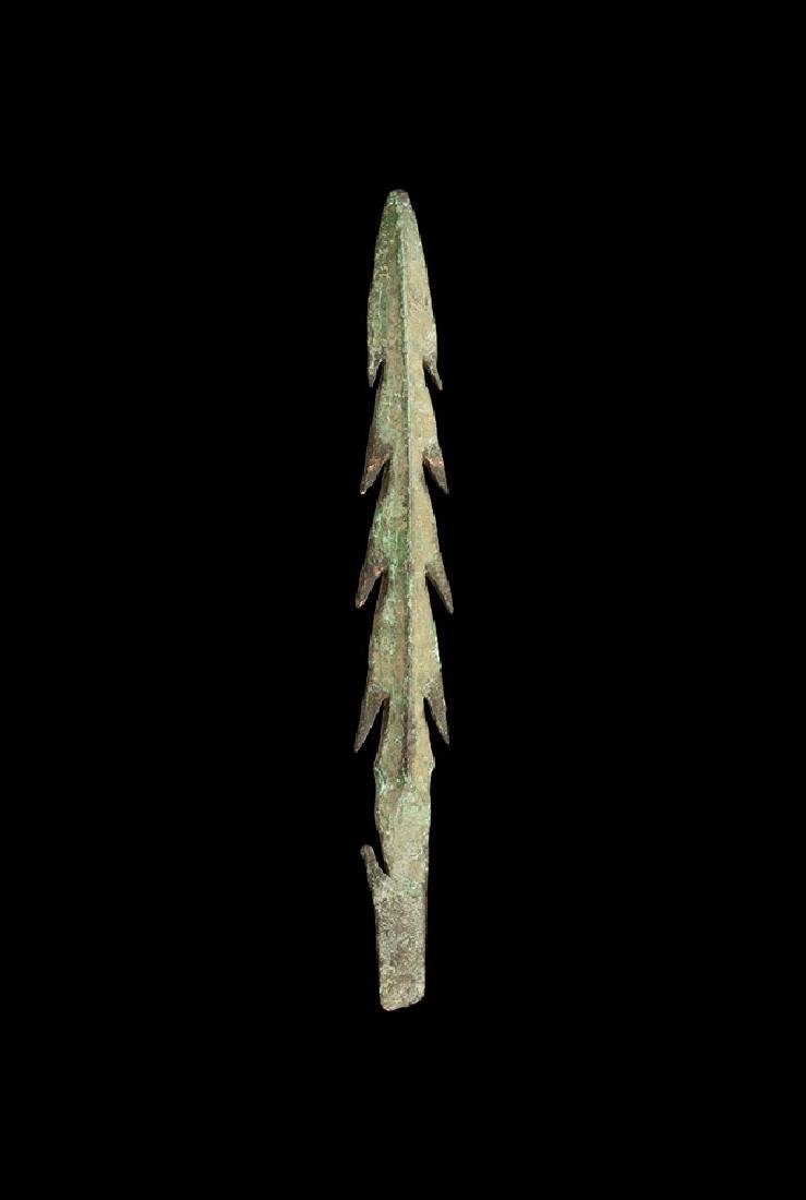 Indo-Gangetic Multi-Barbed Spearhead