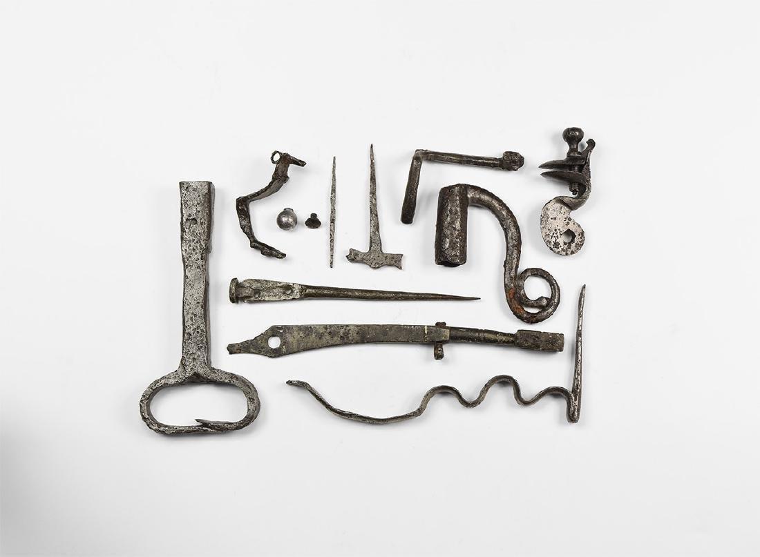 Post Medieval Flintlock Gun Artefact Group