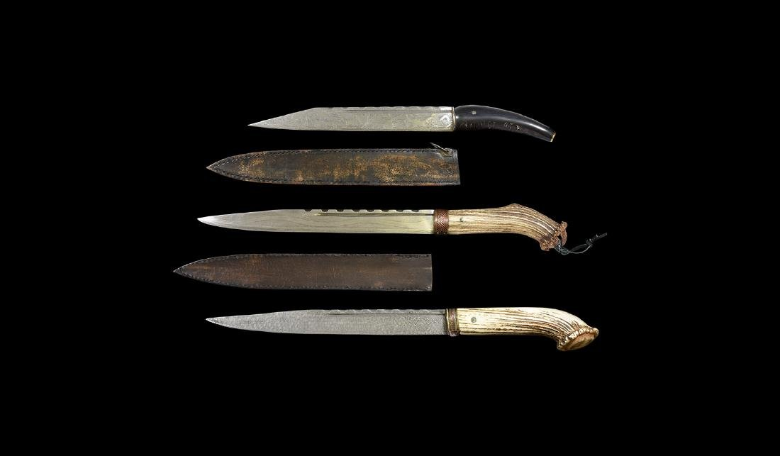 Anglo-Saxon Museum Replica Seax Knife Group.