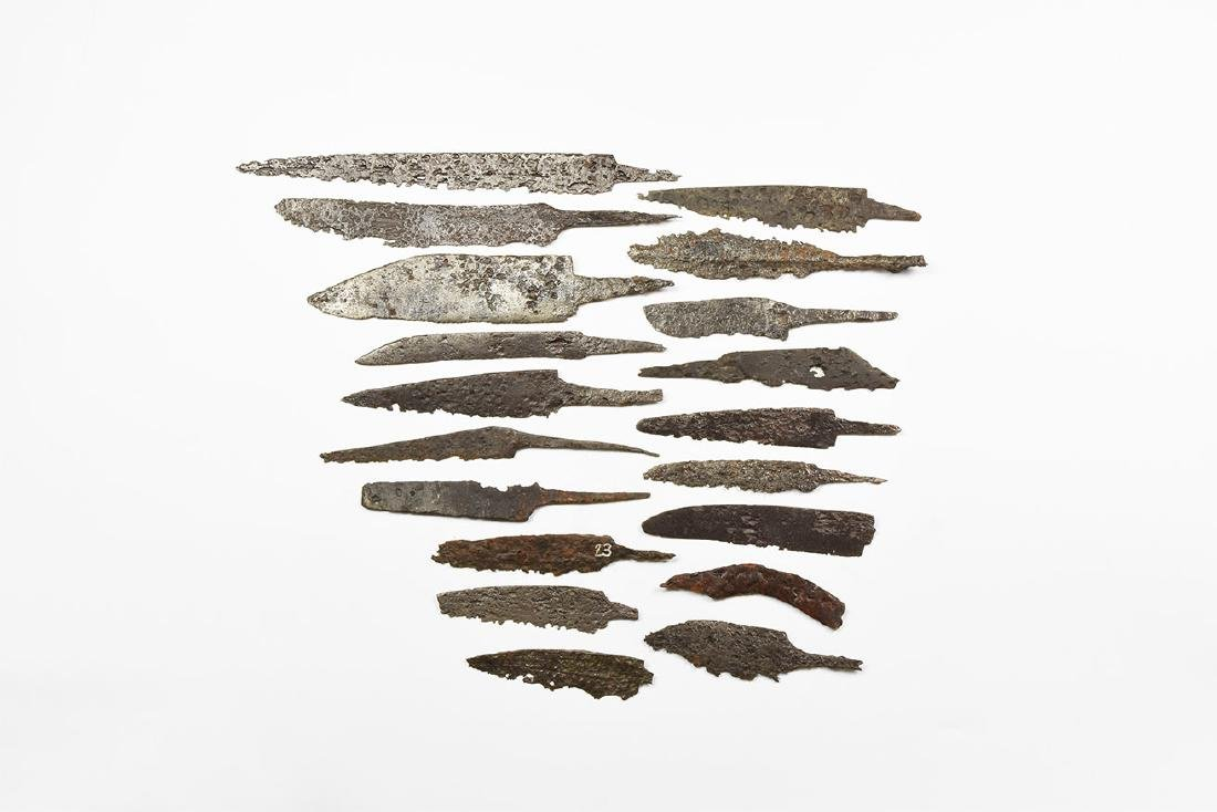Saxon to Medieval Knife Blade Collection