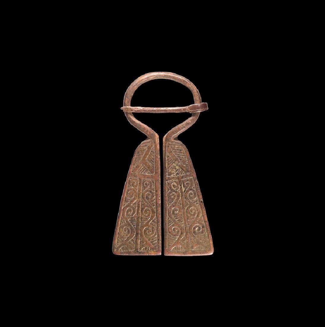Viking Omega Penannular Brooch