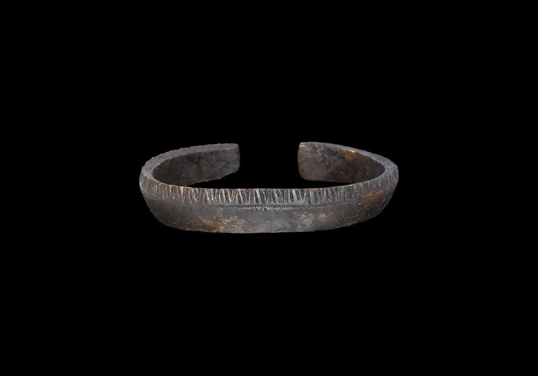 Viking Edge Decorated Bracelet
