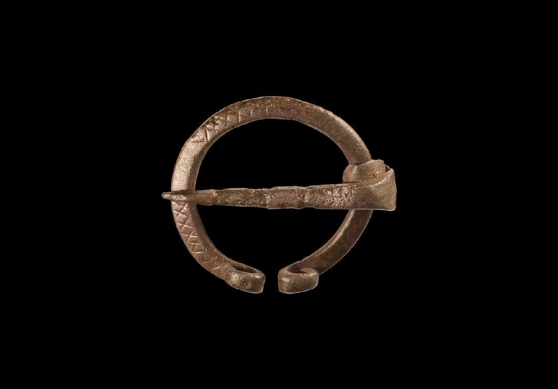 Viking Penannular Brooch