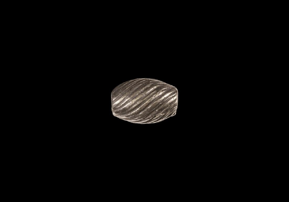 Viking Silver Bead