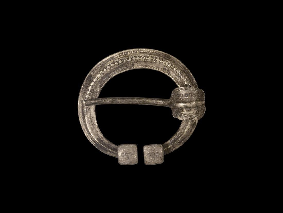 Viking Decorated Penannular Brooch