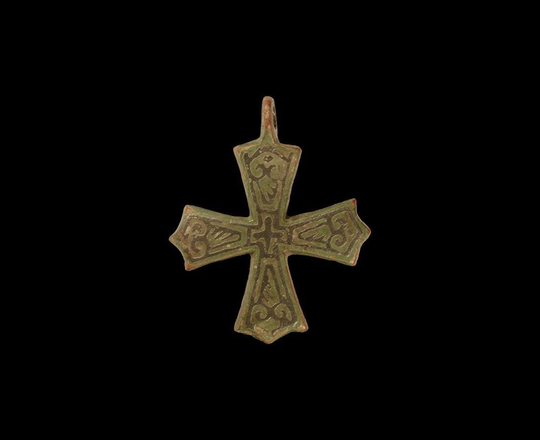 Viking Cross Pendant