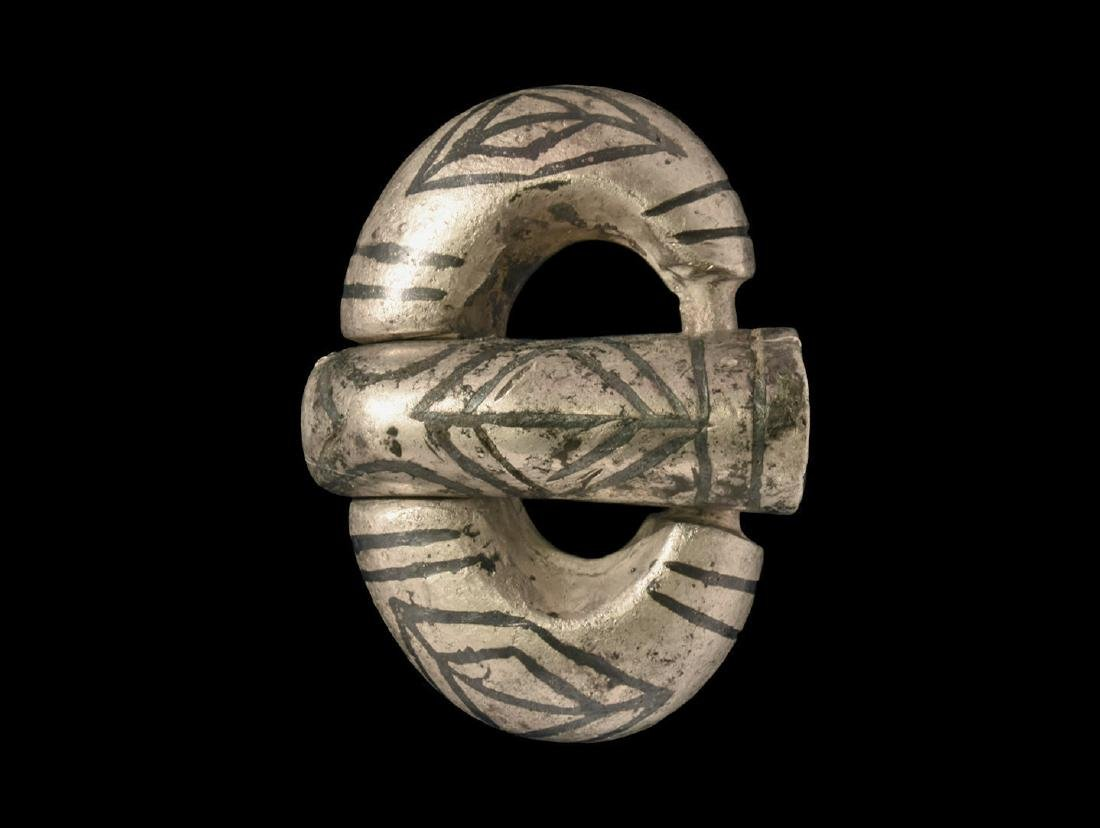 Gothic Buckle with Niello