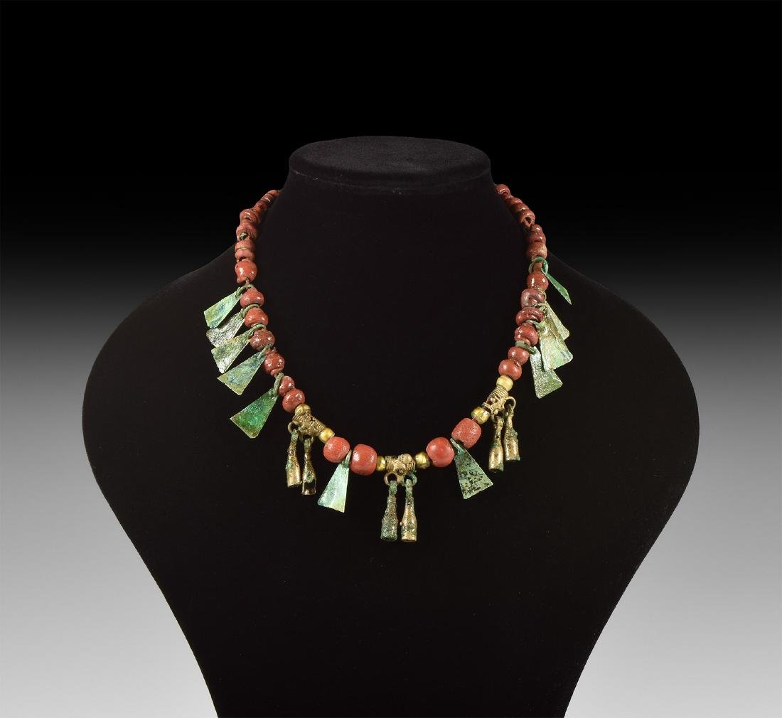 Pre-Viking Bead and Pendant Necklace