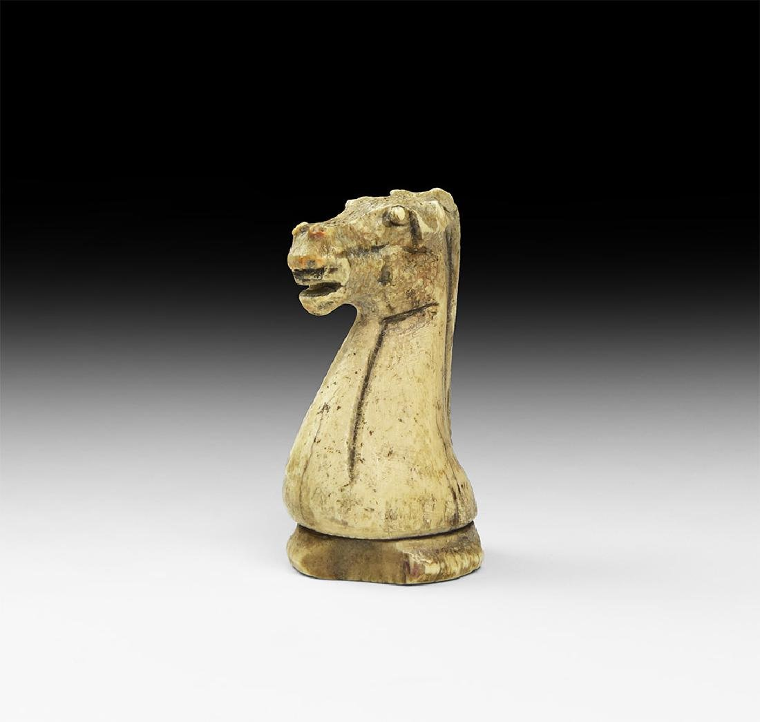 Post Medieval Knight Chess Piece