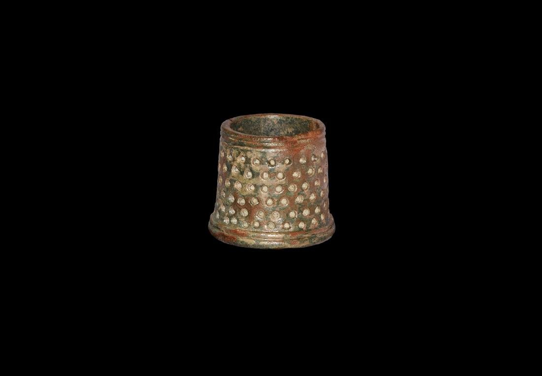 Medieval Large Tailor's Thimble
