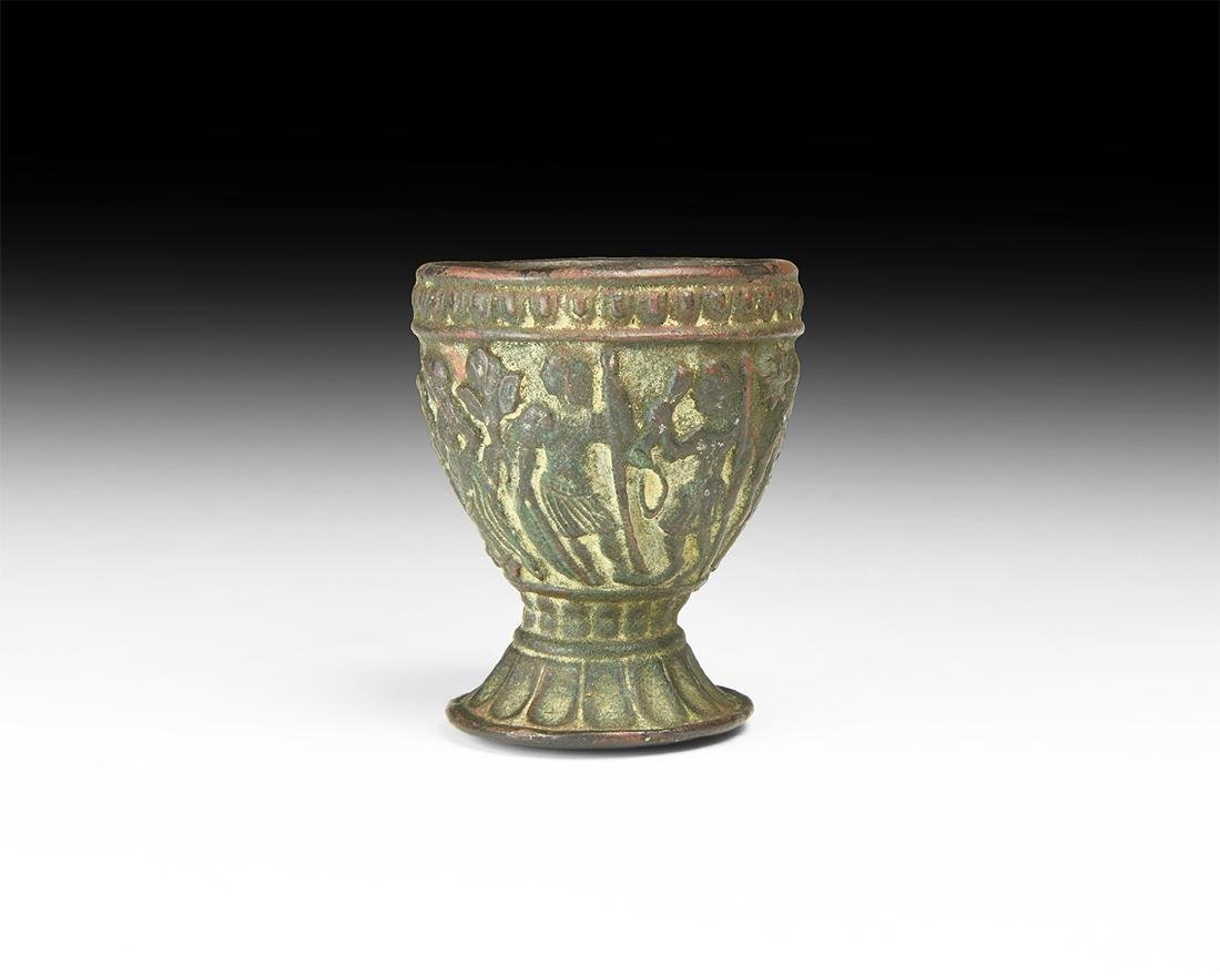 Post Medieval Figural Cup