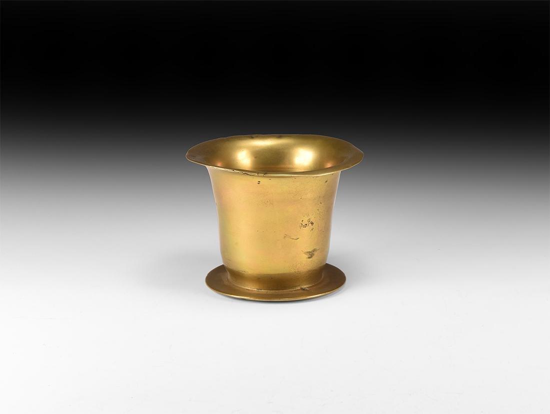 Post Medieval Tudor Brass Salter