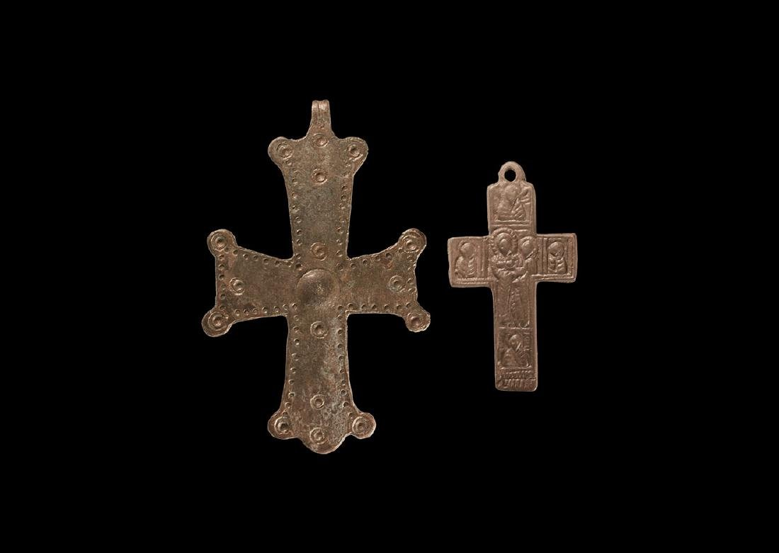 Byzantine and Later Cross Pendant Group