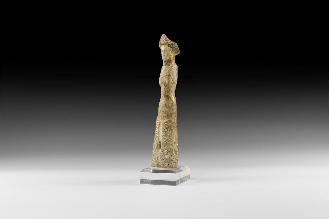 Western Asiatic Bone Female Figurine