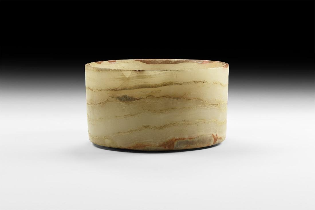 Western Asiatic Bactrian Alabaster Vessel