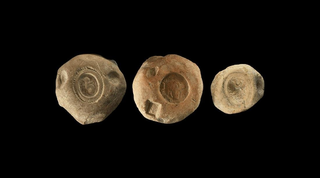 Sassanian Seal Impression Group