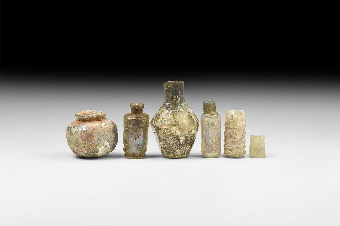 Sassanian and Later Glass Vessel Group