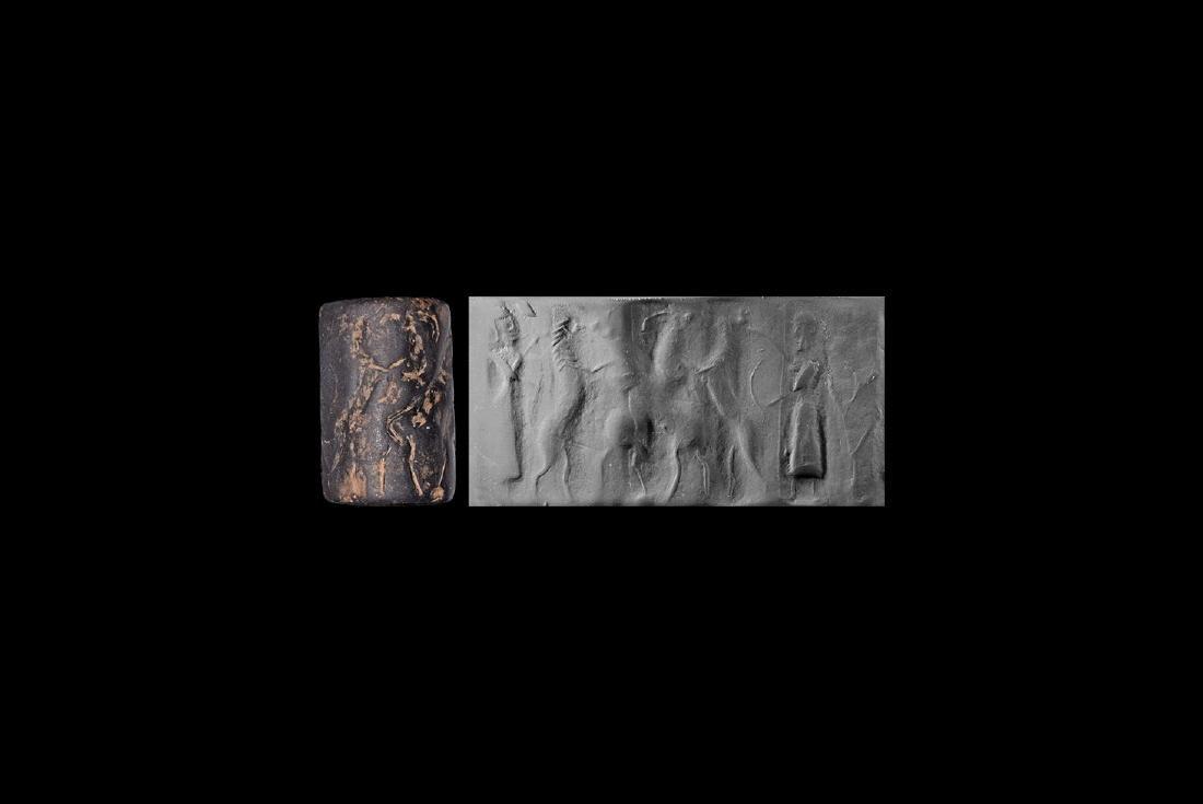 Akkadian Gilgamesh Cylinder Seal