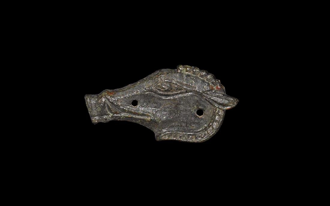 Western Asiatic Scythian Boar's Head Mount