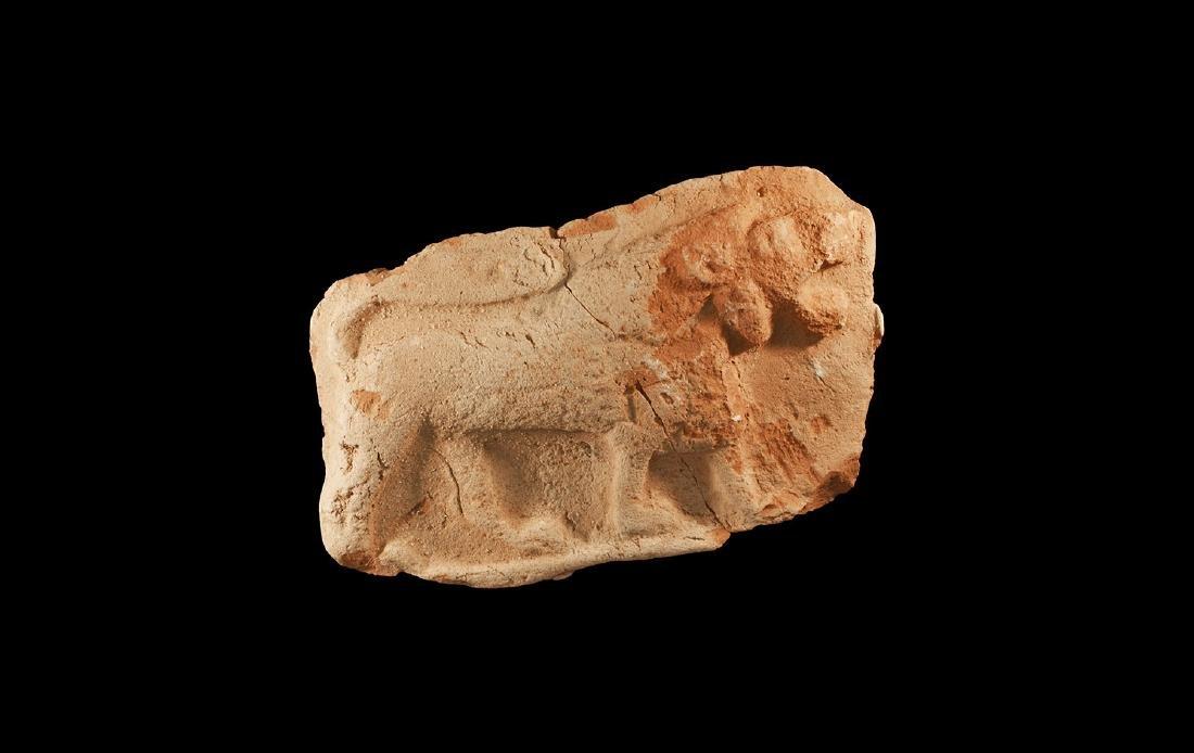Western Asiatic Lion Plaque